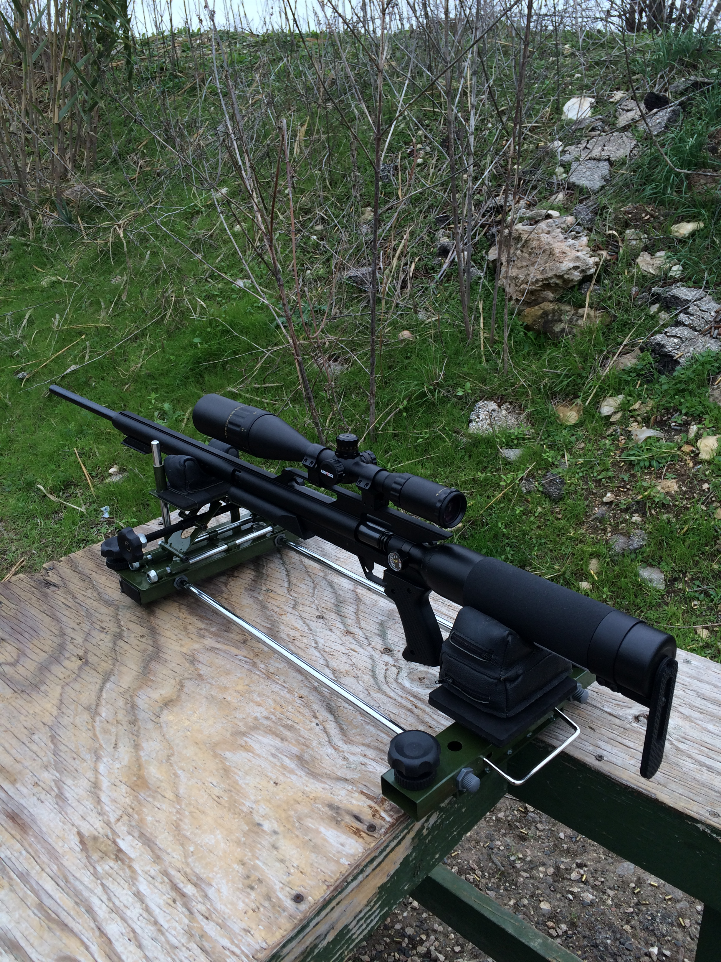 A Day At The Range Airforce Airguns Quot Texan Quot Hunting