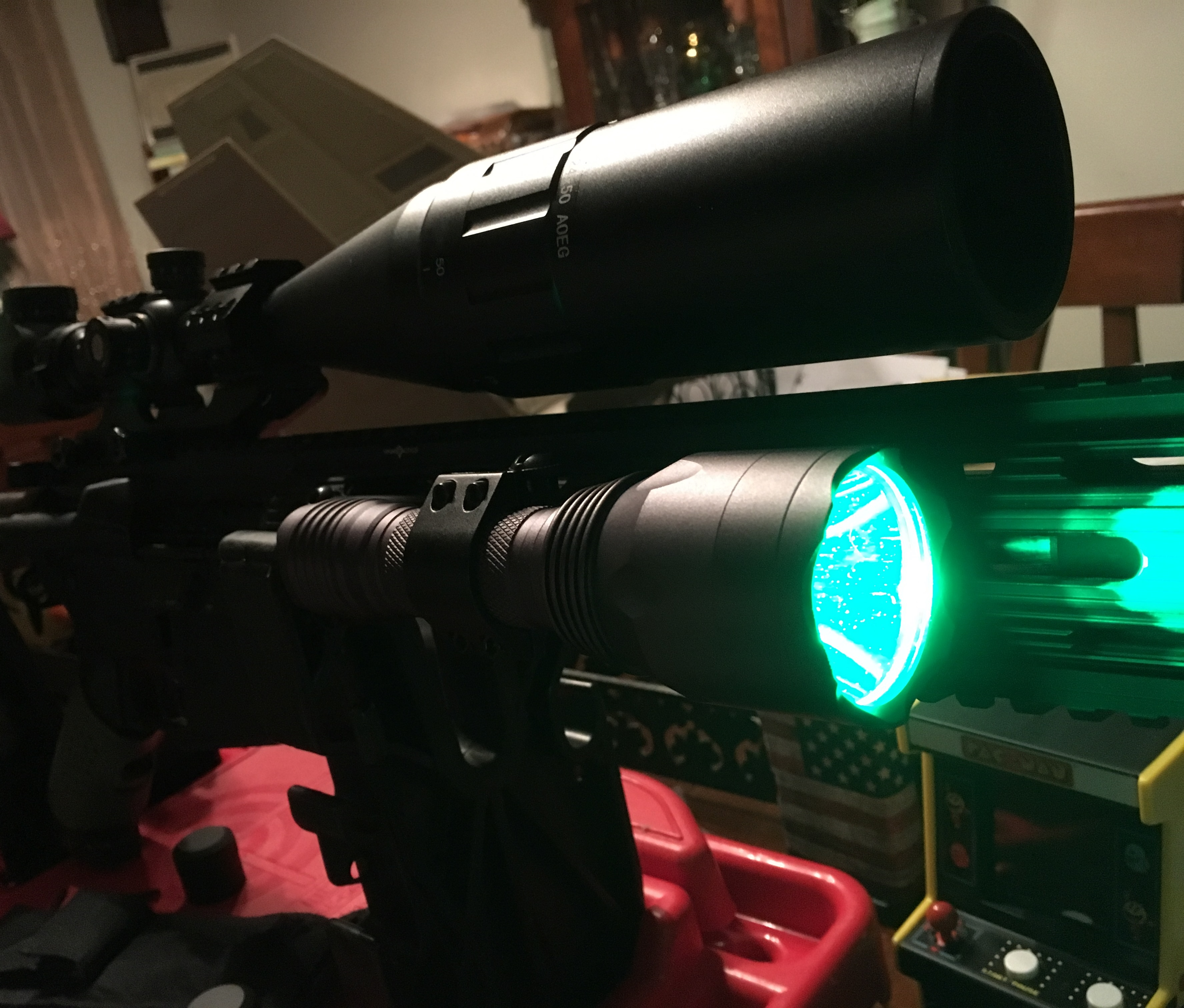 VASTFIRE Green Hunting Flashlight for Nighttime Wild Hog and Predator Hunting -Texas Tested Review {Video}